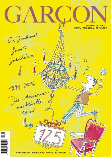 Magazin Garcon - Essen, Trinken, Lebensart - Nr. 39