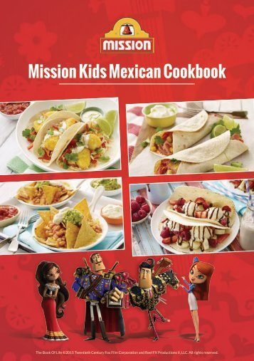 Mission Kids Mexican Cookbook