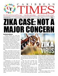 Caribbean Times 4th Issue - Friday 6th May 2016