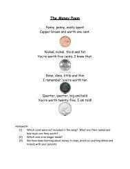 The Money Poem