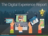 The Digital Experience Report