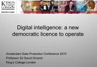 democratic licence to operate