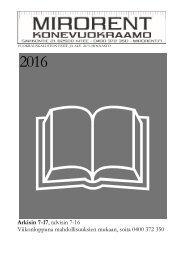 Vuokrauskaluston esite v1.6 2016
