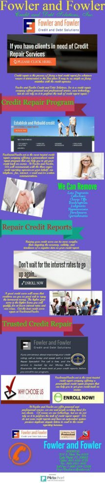 A Reputable Credit Repair Company