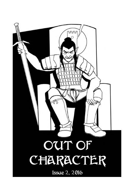 cover art by quentin bo Excel Saga Edition Character Sheet character
