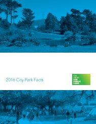 2016 City Park Facts
