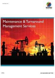 Maintenance & Turnaround Management Services