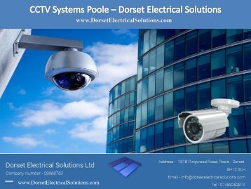 CCTV Systems Poole - Dorset Electrical Solutions