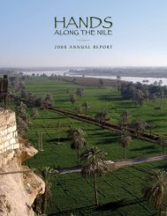 2008 annual report - Hands Along the Nile Development Services