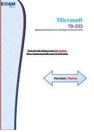 ExamKill 70-333 Exam Study Material