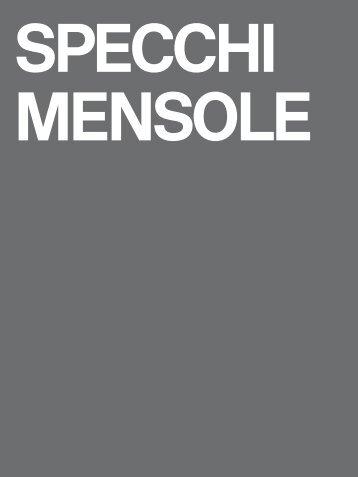tabela GSI_SPECCHI MENSOLE