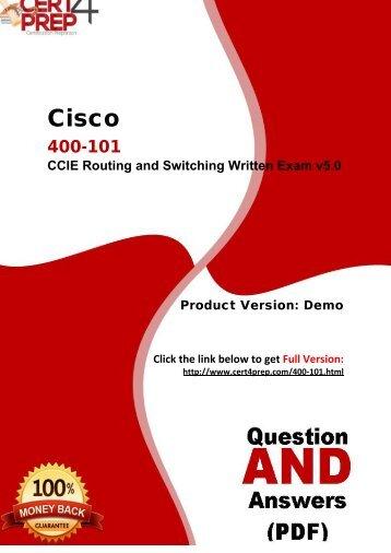 Cert4Prep 400-101 Real PDF Questions
