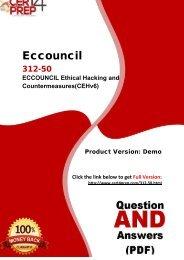 Cert4Prep 312-50 Real PDF Questions