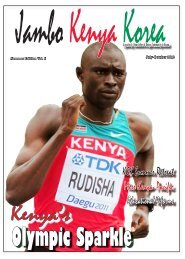 Luhyas krok upp plats
