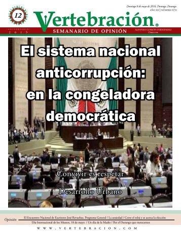 El sistema nacional anticorrupción en la congeladora democrática