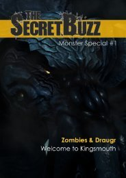 The Secret Buzz - Monster Special #1