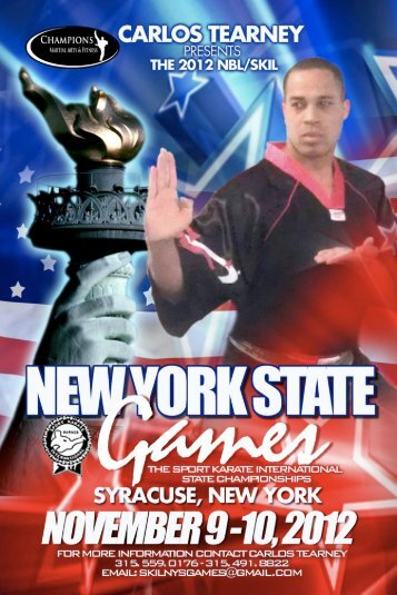 2012 skita rules at a glance - New York Sport Martial Arts Showcase