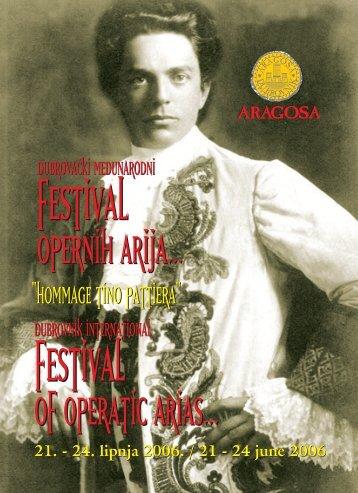 Opera 2006.indd - Dubrovački Operni Festival