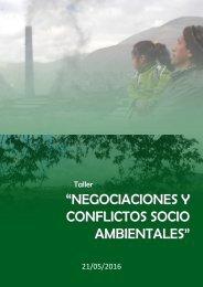 """CONFLICTOS SOCIO AMBIENTALES"""""""