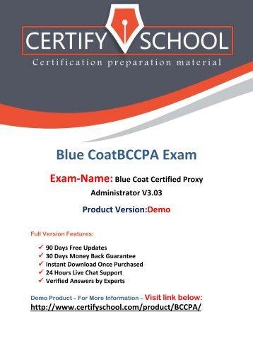 CertifySchool BCCPA Test PDF Practice Questions