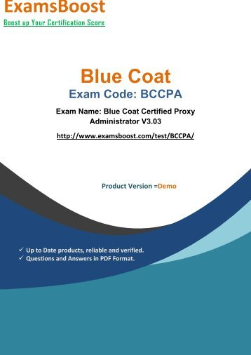 ExamsBoost BCCPA Exam Queries & Solutions