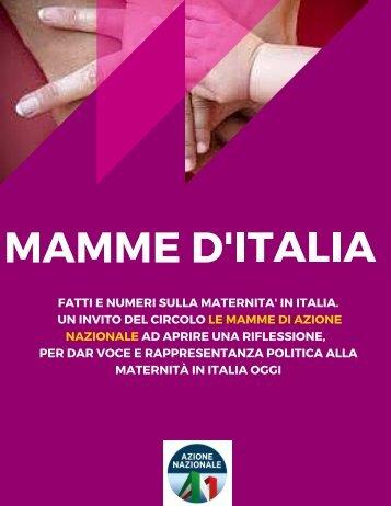 D'ITALIA MAMME