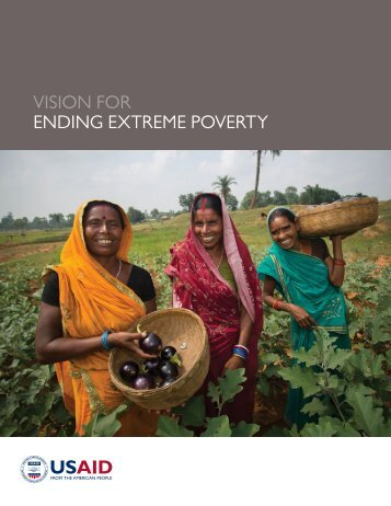 VISION FOR ENDING EXTREME POVERTY