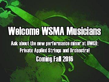 WelcomeWSMAMusicians