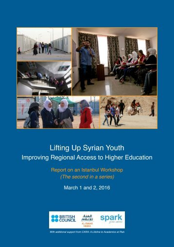 Lifting Up Syrian Youth