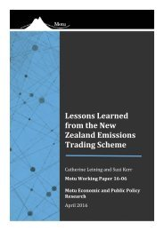 Lessons Learned from the New Zealand Emissions Trading Scheme