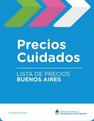 LISTA DE PRECIOS BUENOS AIRES