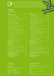 Jahresbericht 2011 - DFHV Deutscher Fruchthandelsverband e.V.