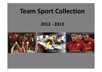 Team Sport Collection 2012 - 2013 - Vangi Sport