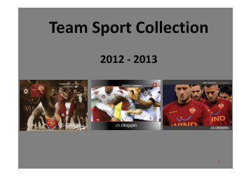 Team Sport Collection 2012 - 2013 - Vangi Sport