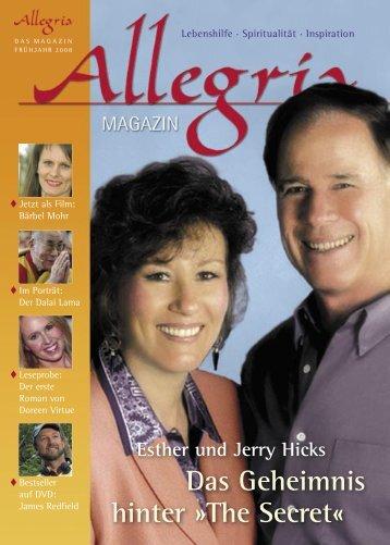 Esther und Jerry Hicks Das Geheimnis hinter - Allegria Magazin