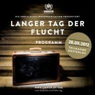 Programm - UNHCR