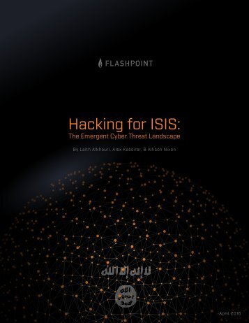 Hacking for ISIS