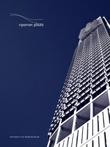 Riparian Plaza - Digital Brochure