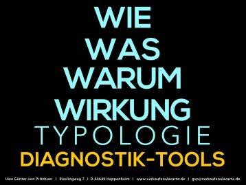 Diagnostik-Tools für Ihren Vertrieb