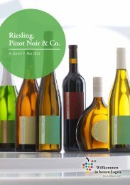 Riesling Pinot Noir & Co