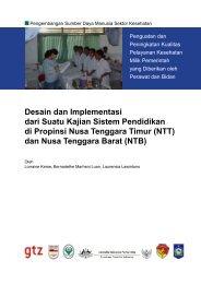Desain dan Implementasi dari Suatu Kajian Sistem Pendidikan di ...