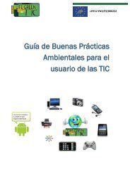 Guía de Buenas Prácticas Ambientales para el usuario de las TIC