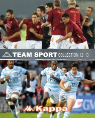Catalogue Team Sport 12/13 - Kappa