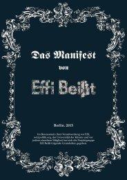 Manifest von Effi Beißt