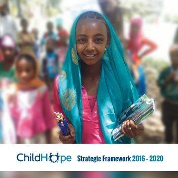Strategic Framework 2016 – 2020