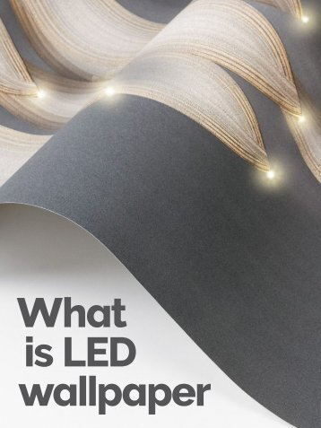 What is LED Wallpaper