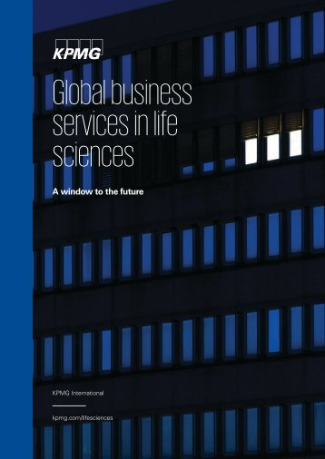 Global business services in life sciences