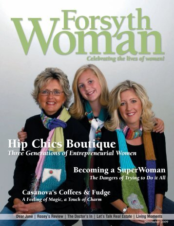 Three Generations of Entrepreneurial Women - Hip Chics Boutique