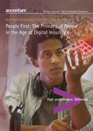 People First The Primacy of People in the Age of Digital Insurance