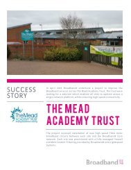 Success Story - The Mead Academy Trust